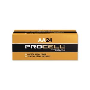 Batteries 'AA' Alkaline Duracell Procell 24/BX