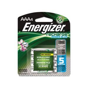 Batteries 'AAA' Rechargeable Energizer 4/PKG