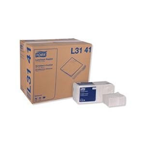 Napkin Lunch 13x11.5 1/4Fold 1 Ply White 6000/CS