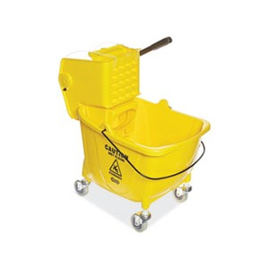 Bucket Mop Pro-Pac Side Squeeze Wringer 8.75GAL Yellow
