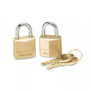 """Three-Pin Brass Tumbler Locks, 3/4"""""""" Wide"""