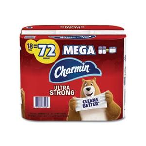 Tissue Toilet 4x3.92 2Ply Ultra Strong 286SHT/RL 18RL/CS