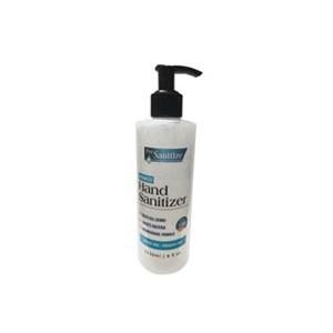Hand Sanitizer 70% Ethyl Alcohol Gel 8oz Pump Bottle 24/CS 84/PLT