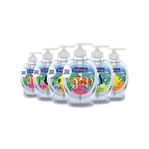 Liquid Hand Soap Pumps Fresh Scent 7.5oz 6/CS