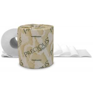 Tissue Toilet 4.5x3.5 2Ply Precious 500SHT/RL 96/CS 25/PLT