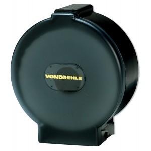 Tissue Toilet Dispenser Single Roll JRT 11.5x20.25x5 Black 4/CS