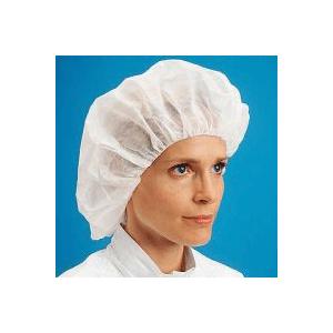 Cleanroom Bouffant Caps, Polypropylene, Latex Free