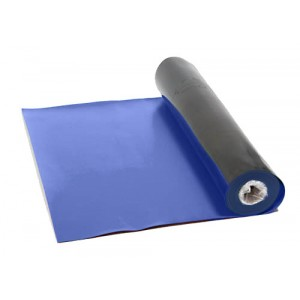 Mat Rubber Table 30x33' Rubber 2-Layer Blue Static Dissipative