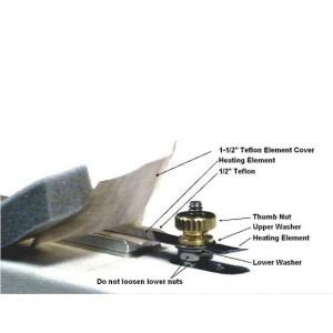"Vacuum Sealer-Sealer Element 1/4"" for 25"" Sealer AmeriVacs"