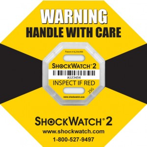 Shock Watch 2: Serialized Rating 25G Yellow 100/BX