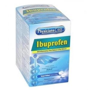 Ibuprofen Medication, 200mg, Two-Pill Packets