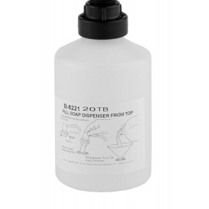Bottle Liquid Soap Container 20oz Replacement for Bobrick 8221