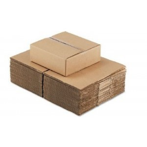 RSC 8x8x38 32ECT Kraft Corrugated Boxes 25/50