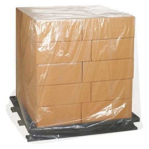 Bag Pallet Cover 51x49x73 3Mil Clear 50/RL
