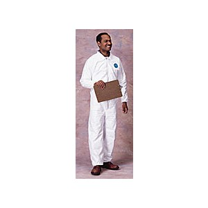 Coverall Tyvek Elastic Wrist&Ankle No Hood/Boot XLG 25/CS