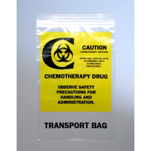Bag Poly 6x9 2Mil Ziplock Chemo Transfer 1000/CS