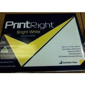 Paper Copy 8.5x11 20# White 96 Brightness 500/RM 10/CS 40/PLT