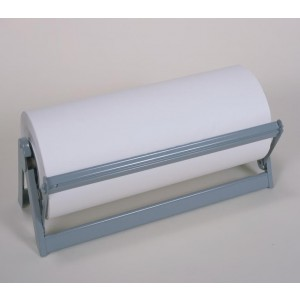 "Dispenser 36"" for Paper or Poly Roll W/ tension bar"