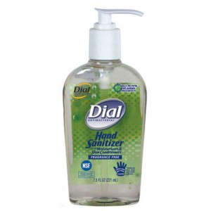 Antibacterial Hand Sanitizer with Moisturizers, 16 oz Pump, Fragrance-Free