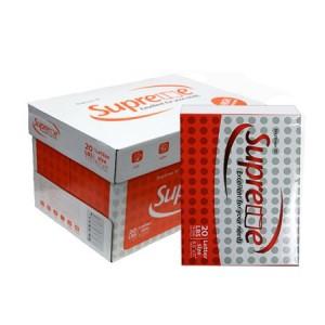 Paper Copy 8.5x11 20# White Supreme Brand 94/95 Brightness 500/RM 10/CS 40/
