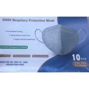 Face Mask GB2626-2006 KN95 EN 149:2001+A1:2009 10/BX