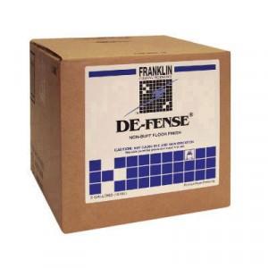 DE-FENSE Non-Buff Floor Finish, Liquid, 5 gal. Box