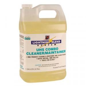 UHS Combo Floor Cleaner/Maintainer, Citrus Scent, Liquid, 1 gal. Bottle