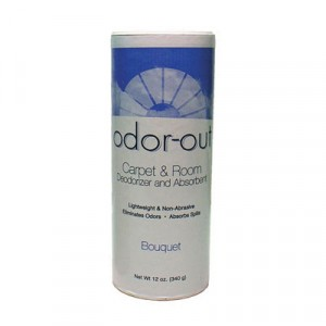 Odor-Out Rug/Room Deodorant, Bouquet, 12oz, Shaker Can
