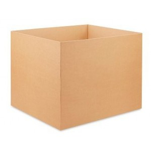 HSC 48x40x48 1100# Triple Wall Kraft Corrugated Container 5/30
