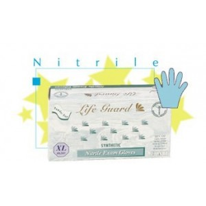 "Glove Nitrile 9.5"" 5Mil FDA Medical/Exam P/F Blue XSML 100/BX 10/CS"