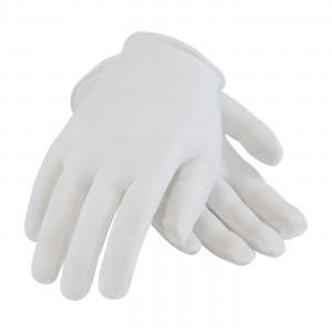 "Cotton Lisle Inspection Gloves 9"" Unhemmed Lightweight"