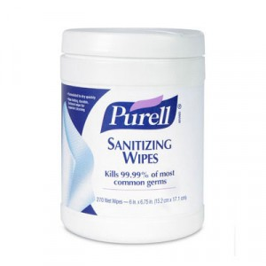 Wipes Sanitizing Wipes 270/PKG 6/CS
