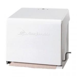 Mark II Crank Roll Towel Dispenser, 10 3/4x8 1/2x10 3/5, White