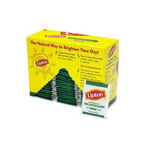 Tea Lipton Decaf 72/PK 6/CS
