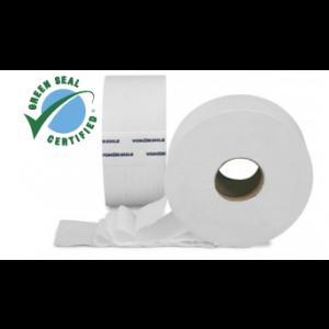 Tissue Toilet 3.6x750' 2Ply JRT 12RL/CS 55/PLT