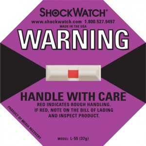 Shockwatch 37G Rating Purple No Logo Shockwatch 50/BX