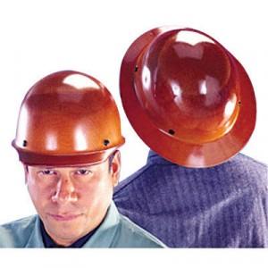 Skullgard Protective Hard Hats, Staz-On Pin-Lock Suspension, Lamp Bracket, Tan