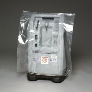 Bag Poly 28x56 1Mil Blue-Tint 50/RL