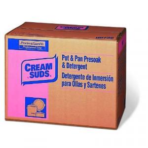 Manual Pot & Pan Detergent w/o Phosphate, Baby Powder Scent, Powder, 25 lb. Box
