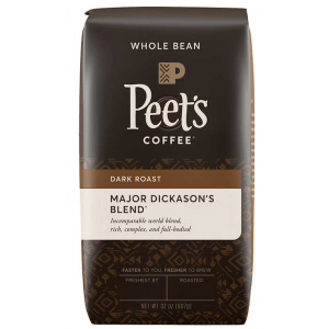 Coffee Peet's Major Dickason's 2LB/PKG