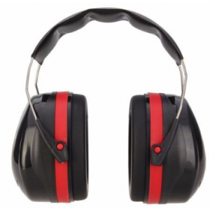 Ear Muff Noise Reduction Red/Black
