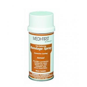 Bandage Spray 3OZ Benzethonium Chloride .2% Benzocaine 3.2% 12/CS