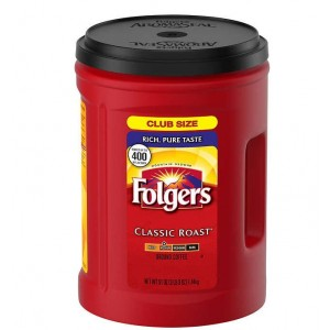 Coffee Folgers Classic Ground Medium Roast 51oz. Canister