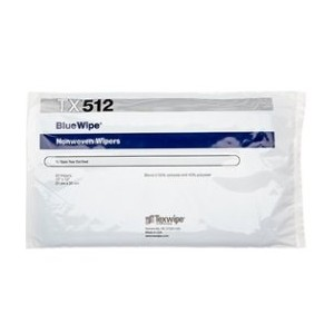 Wipe Poly/Cell 12x12 C-Fold Blue w/Dispenser Bag 50/BG 10/CS