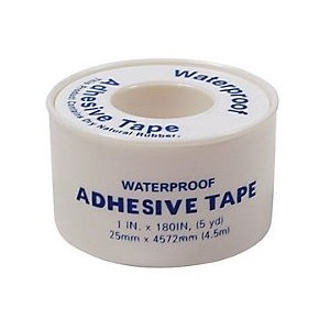 "Tape First Aid 1""x5yds Waterproof Latex Free 1/BX 210/CS"