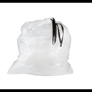 Bag Can Liner 36.5x44.5 1.0Mil Drawstring White 25/RL 4/CS 100/CS 64/PLT