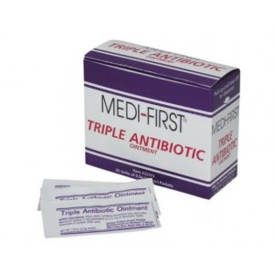 Ointment Triple Antibiotic .5 Gram Packets 25/BX 36/CS