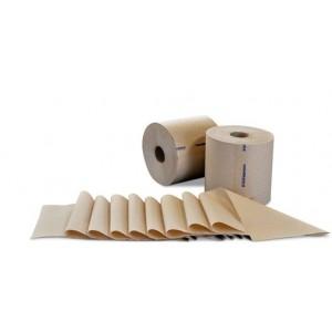 "Towel Roll 8x800' Kraft 2"" Core 6RL/CS 55/PLT"