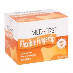 Bandage Fingertip Flexible Extra Heavy Weight Latex Free 40/BX 36/CS