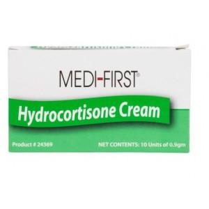 Creme Hydrocortisone 1% .9GM Packets 10/BX 10/CS
